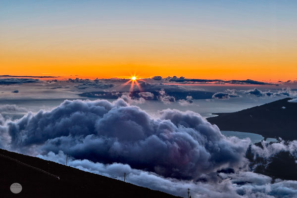 "Bild: Haleakala view at sunset, Maui, ""Haleakala sunset2""; www.2u-pictureworld.de"