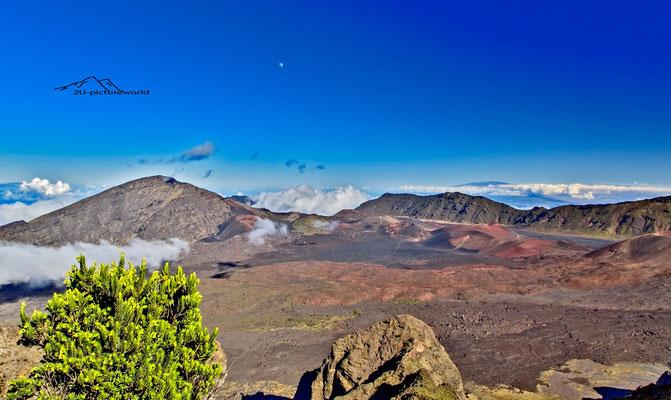 "Bild: ""Leleiwi Overlook Kraterlandschaft"", Haleakala, Maui"
