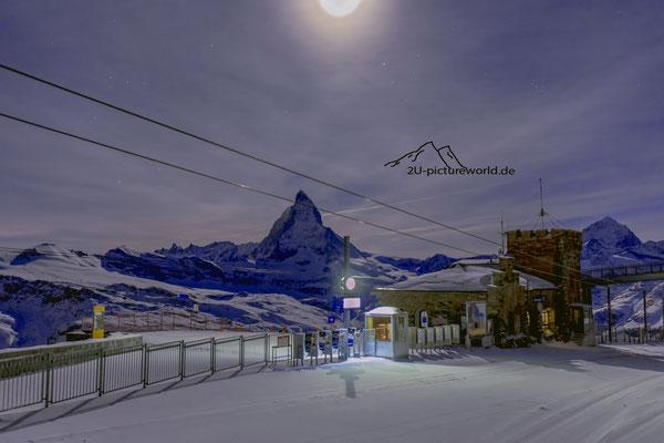 """Bild: Gornegrat Zermatt, """"Endstation"""", www.2u-pictureworld.de"""