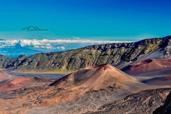 """Bidl: """"cinder cones"""", Haleakala, Maui"""