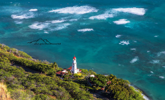 "Bild: ""Leuchtturmblick"", Diamond Head, Oahu"