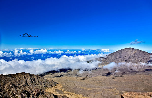 "Bild: ""Wolkenband"", Haleakala cinder cones, Maui"