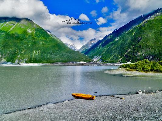 """Bild: Gletschersee Valdez, """"Stille"""""""