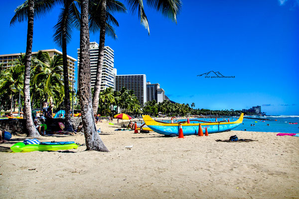 "Bild: ""Waikiki beach time"", Oahu"