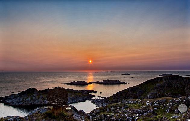 """Bild: Litloy Norwegen Nordland, """"Litloy midnight sun"""", www.2u-pictureword.de"""