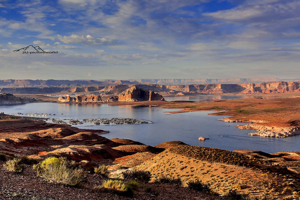 Bild: wahweap marina, lake Powell, Arizona