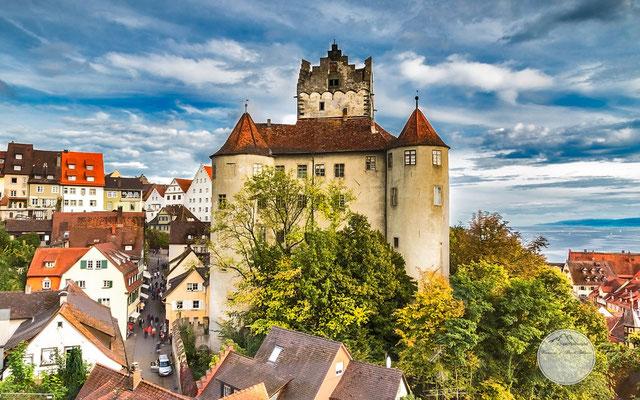 Bild: Die Meersburg in Meersburg, www.2u-pictureworld.de