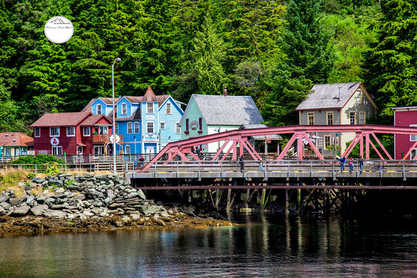 """view on Creek Street"" Ketchikan"