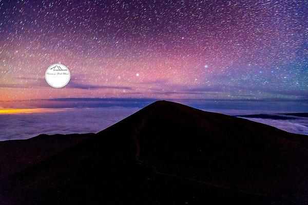 "Bild: ""Sternenregen"", Mauna Kea, Hawaii"