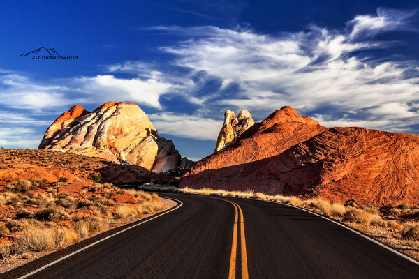 """Bild: """"white dome in the valley of fire"""", next to Las Vegas, Nevada"""