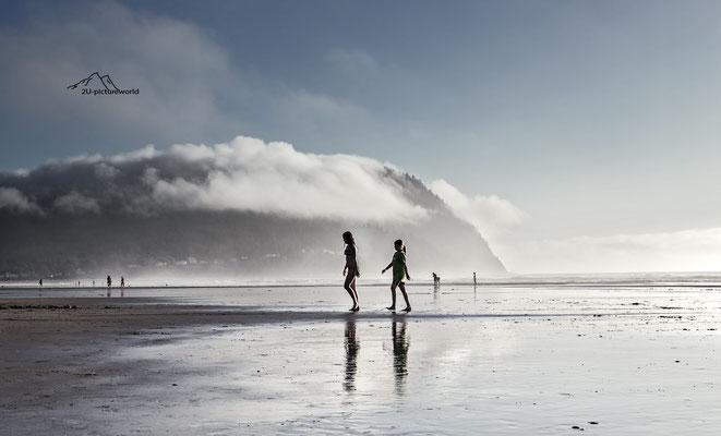 Bild: summertime at Seaside, Oregon