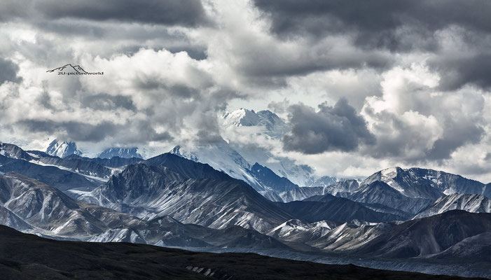"Bild: ""Versteckspiel"", Mount Mc Kinley, Denali NP, Alaska"