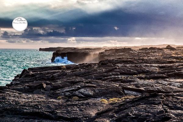 "Bild: ""Lichtsrahlen"", Volcano Nationalpark, Hawaii"