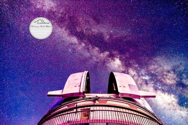 """Bild: """"milky way teleskop"""", Mauna Kea, Hawaii"""