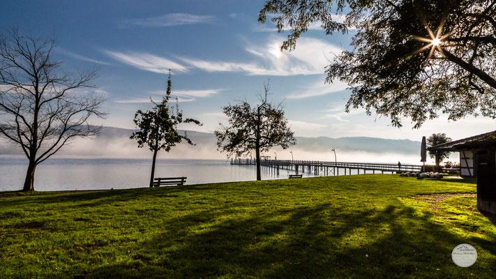 """Bild:  Bodensee bei Hemmenhofen Deutschland, """"Herbstidylle"""", www.2u-pictureworld.de"""