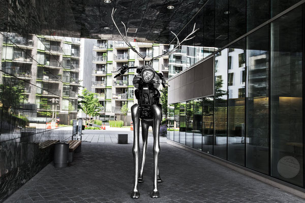 "Bild: Oslo Aker Brygge Plastik, ""nightmare or reality?"", www.2u-pictureworld.de"