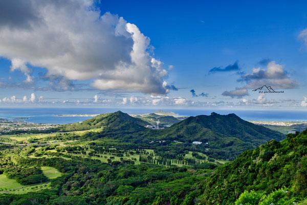 Bild: Pali Lookout Oahu