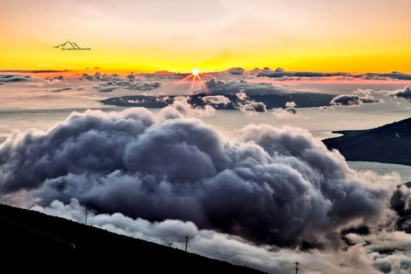 "Bild: ""Sonnenuntergang 3055"", Haleakala, Maui"