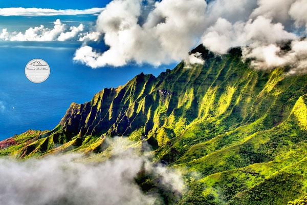 "Bild: ""Wolkenrahmung"", Kokee State Park, Kauai"
