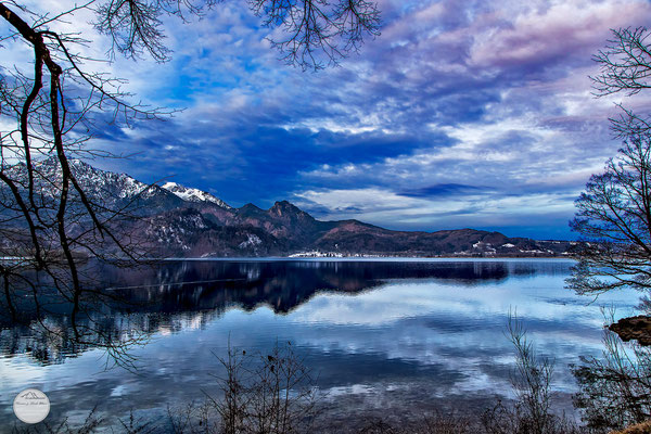 "Bild: Kochelsee bei Kochel am See, Bavaria Germany, ""Kochel-lake morning""; www.2u-pictureworld.de"