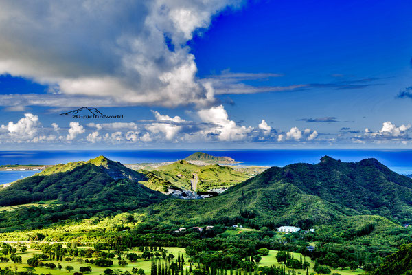 "Bild: ""Pali Lookout on the North-East Shore"", Oahu"