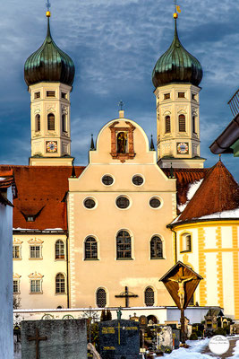"Bild: abbey Benediktbeuren, Bavaria Germany, ""cemetery Benediktbeuren""; www.2u-pictureworld.de"