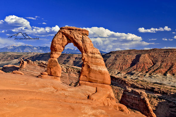 "Bild: ""delicate arch before sunset"", the arches NP, Utah"