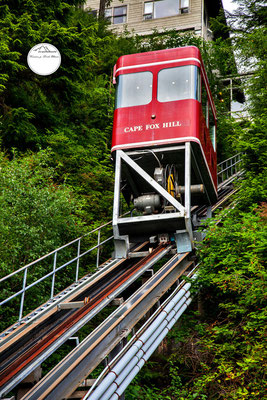 Cape Fox Hill Standseilbahn