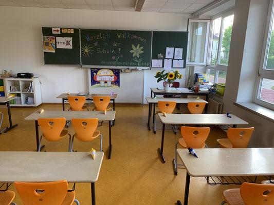 Klassenraum der 1a
