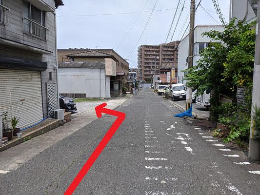 小倉北区井堀リラクゼーションマッサージ駐車場案内