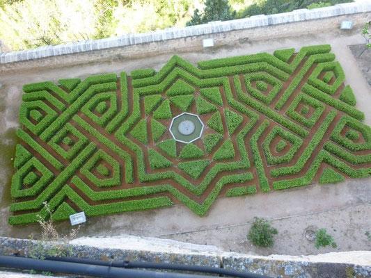 Les jardins - Alcazar de Segovie