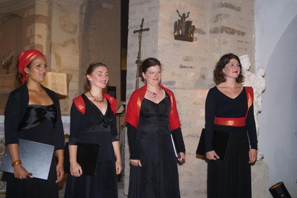Le quatuor vocal Les Méliades