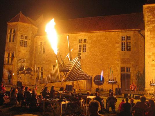 Michel Moglia et son orgue à feu