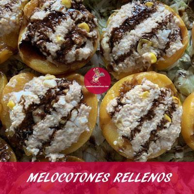 MELOCOTONES RELLENOS