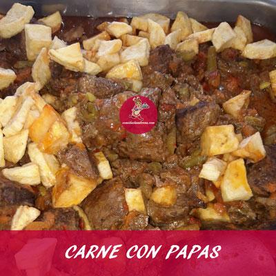 CARNE CON PAPAS