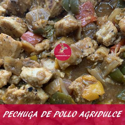 PECHUGA DE POLLO AGRIDULCE