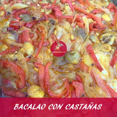 BACALAO CON CASTAÑAS
