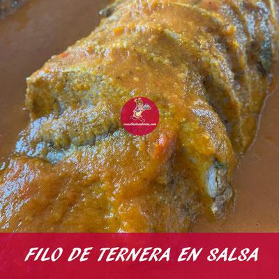 FILO DE TERNERA EN SALSA