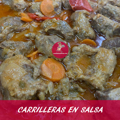 CARRILLERAS EN SALSA