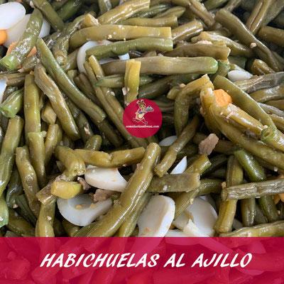 HABICHUELAS AL AJILLO