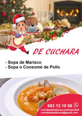 Menú navidad 2019 - Comidas La Sabrosa, Tenerife