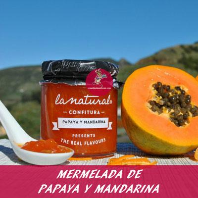 MERMELADA DE PAPAYA Y MANDARINA