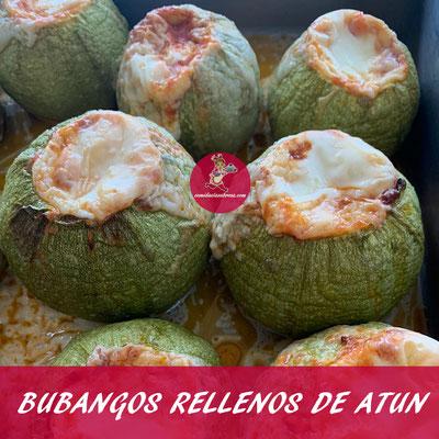 BUBANGOS RELLENOS DE ATUN