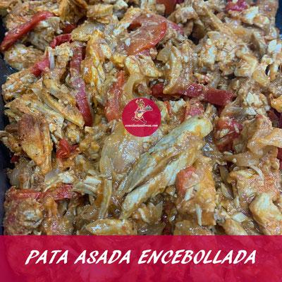 PATA ASADA ENCEBOLLADA EDIT