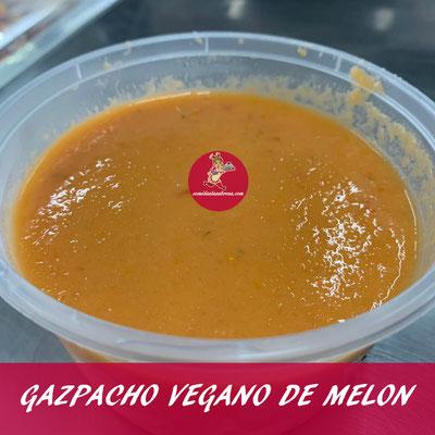 GAZPACHO VEGANO DE MELÓN
