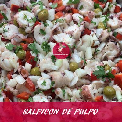 SALPICON DE PULPO