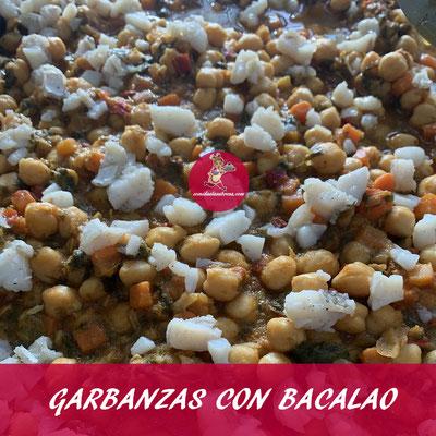 GARBANZAS CON BACALAO