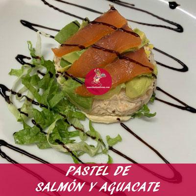 PASTEL DE SALMON Y AGUACATE