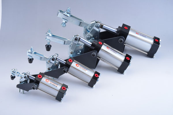 STANDARD PNEUMATIC TOGGLE CLAMPS