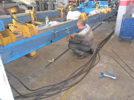 montaggio Tubi oleodinamici